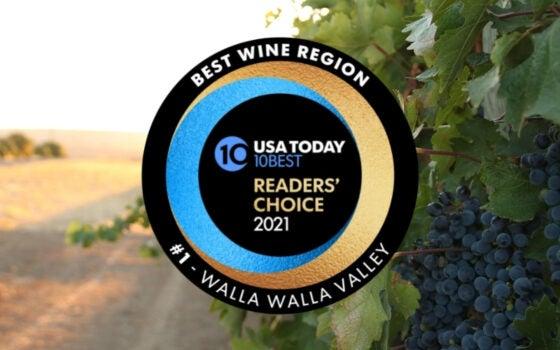 America's Best Wine Region is Walla Walla!